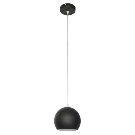 Lustr MARION 1xE27/60W/230V černá