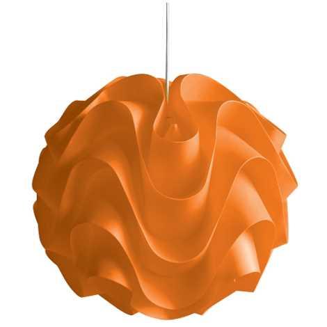 Lustr na lanku 1xE27/60W W-3011 oranžová
