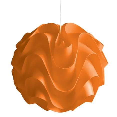 Lustr na lanku 1xE27/60W W-3022 oranžová