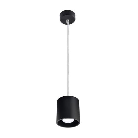 Lustr na lanku ORBIS 1 1xGU10/40W/230V černá