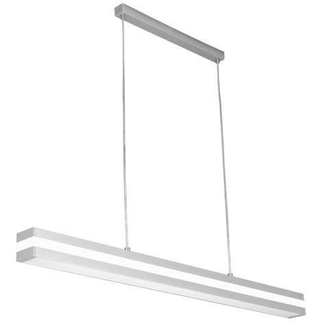 Lustr OFINNA 1xT5/28W/230V stříbrná/bílá