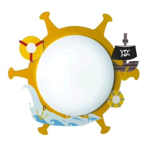 Luxera 28024 - Dětské stropní svítidlo PIRAT 3xE14/9W/230V
