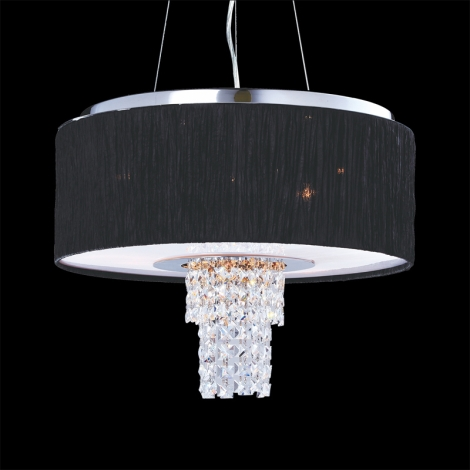 Luxera 33501 - Závěsné stropní svítidlo PASHMINA 6XE14/40W/230V