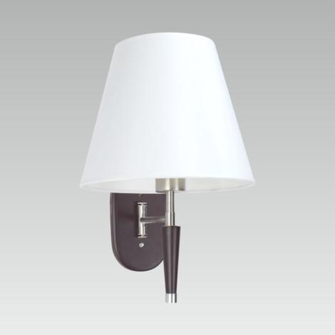 Luxera 33510 - Nástěnná lampička BANKOK E27/60W/230V