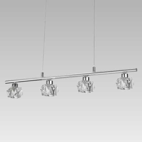 LUXERA 34042 - LED Závěsné svítidlo ZENITH 4xLED/5W