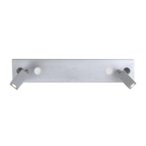 LUXERA 41113 - LED Bodové svítidlo HILTON 54xLED/5W+2xLED/3W
