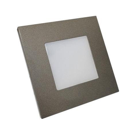 Luxera 48305 - LED orientační svítidlo STEP LIGHT 16xLED SMD/1W/230V