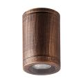 Luxera 48326 - Venkovní stropní svítidlo MOPTI 1xGU10/7W/230V IP54 hnědá