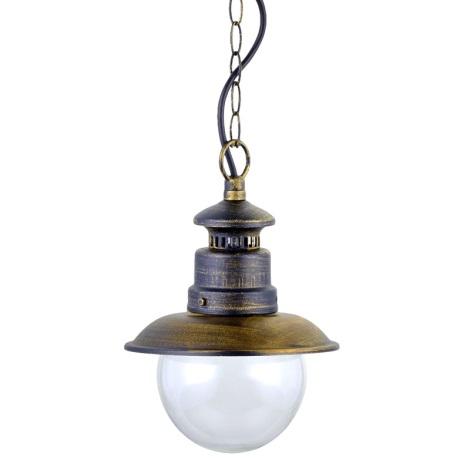 Luxera 48401 - Venkovní lustr LIMASSOL 1xE27/60W/230V