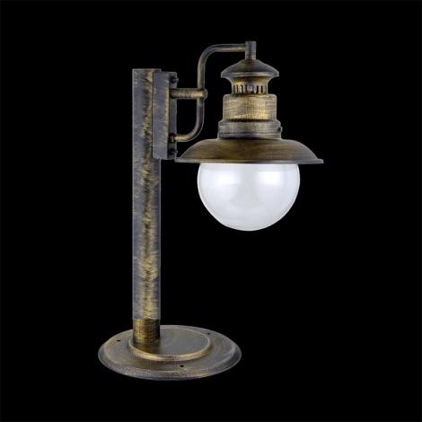 Luxera 48402 - Venkovní lampička LIMASSOL 1xE27/60W/230V