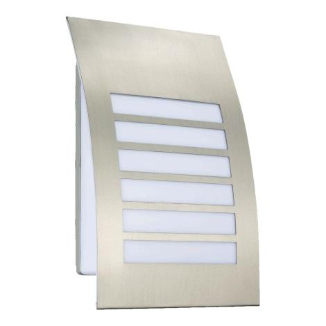 Luxera 61035 - Venkovní nástěnné svítidlo PRISMA 2xE27/11W/230V