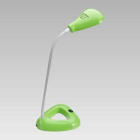 LUXERA 63102 - LED Kancelářská lampa FLIPP 1xSMD LED/4,68W zelená