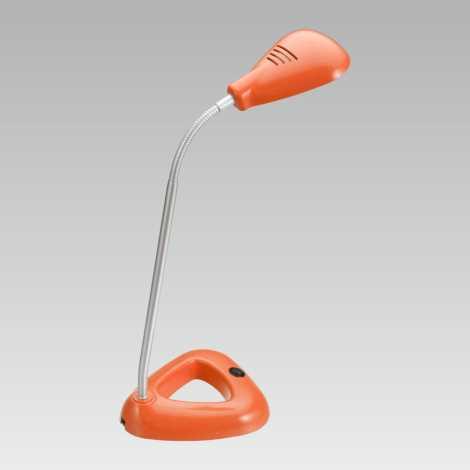 LUXERA 63104 - LED Kancelářská lampa FLIPP 1xSMD LED/4,68W oranžová