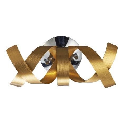 Luxera 64346 - Nástěnné svítidlo RIBBON 1xG9/33W/230V