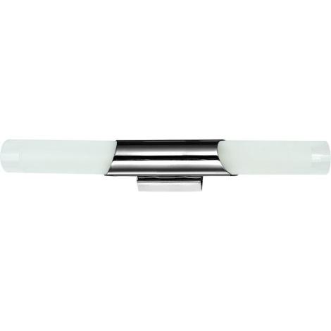 Luxera 65016 - Nástěnné svítidlo ELIOT 2xE14/40W/230V lesklý chrom