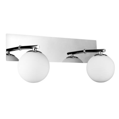 Luxera 65020 - Koupelnové svítidlo NAOS 2xG9/33W/230V