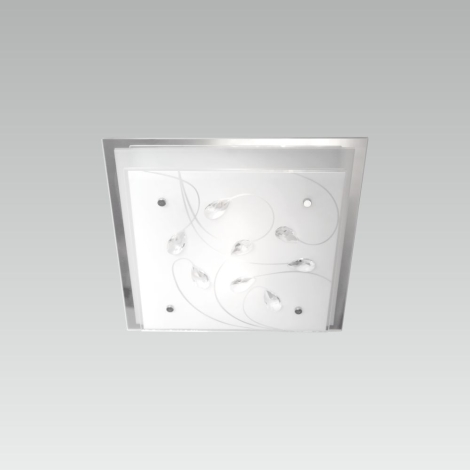 LUXERA 65105 - Stropní svítidlo IKAROS KRISTAL 1xE27/60W