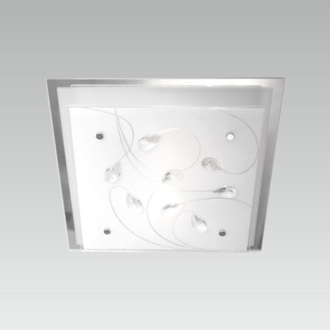 LUXERA 65106 - Stropní svítidlo IKAROS KRISTAL 2xE27/60W