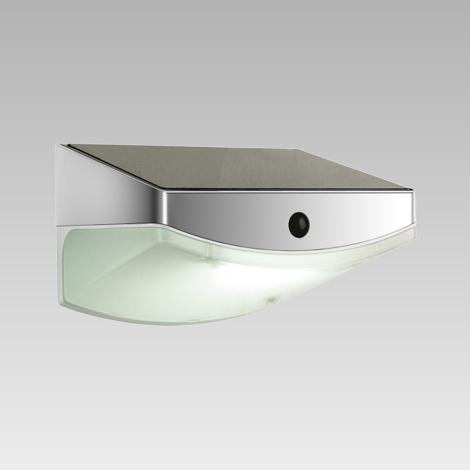Luxera 65250 - LED solární svítidlo s čidlem TARDIS 3xLED/0,5W/5,4V