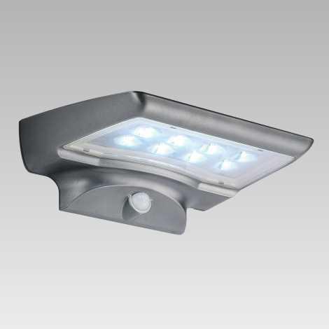 Luxera 65251 - Venkovní solární svítidlo s čidlem STARGATE 8xLED/0,5W/5,4V