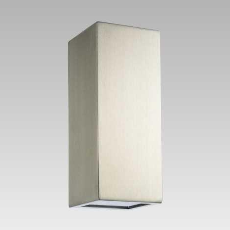 Luxera 65253 - Venkovní nástěnné svítidlo BLOCK 2xLED/1,5W/230V