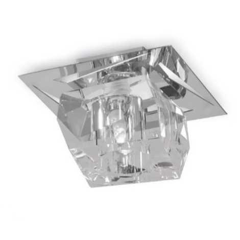 Luxera 69056 - Křišťálové stropní svítidlo FLOYD 1xG9/33W/230V