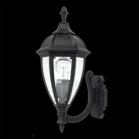 LUXERA 70125 - Venkovní nástěnné svítidlo CALIFORNIA 1xE27/100W