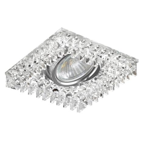 Luxera 71067 - Podhledové svítidlo CRYSTALS 1xGU10/50W/230V