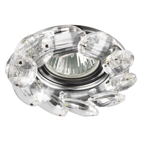 Luxera 71073 - Podhledové svítidlo CRYSTALS 1xGU10/50W/230V