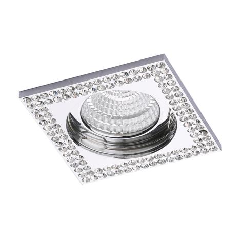 Luxera 71077 - Podhledové svítidlo CRYSTALS 1xGU10/50W/230V křišťál