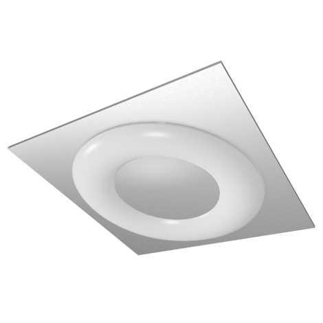 LUXERA 75301 - Stropní zářivkové svítidlo MADISON 1xT5/55W hranaté