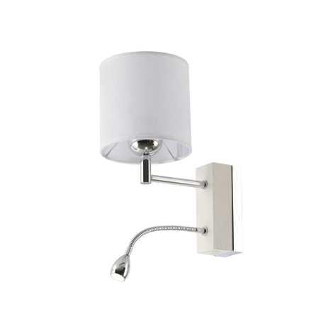 MANGO MA K B - LED nástěnné svítidlo 1xE27/60W + LED/1W/230V