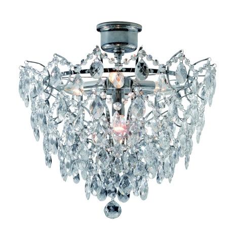 Markslöjd 100511 - Křišťálový přisazený lustr ROSENDAL 4xE14/40W/230V