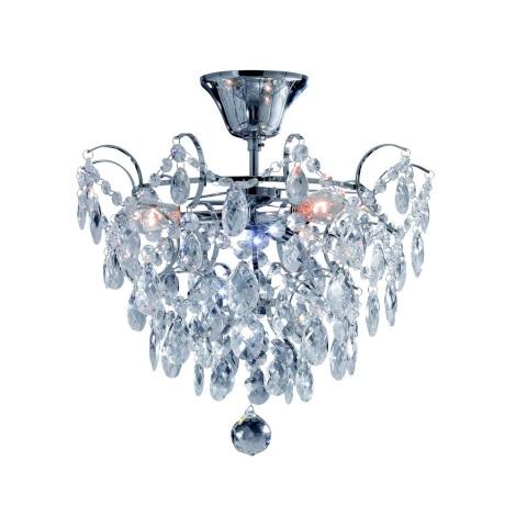 Markslöjd 100539 - Křišťálový přisazený lustr ROSENDAL 3xE14/40W/230V