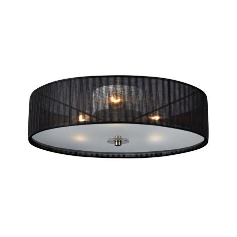 Markslöjd 104884 - Stropní svítidlo BYSKE 3xE14/40W/230V černá