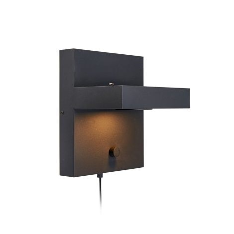 Markslöjd 107065 - LED Stmívatelné nástěnné svítidlo CUBIC 1xLED/5W/230V černá