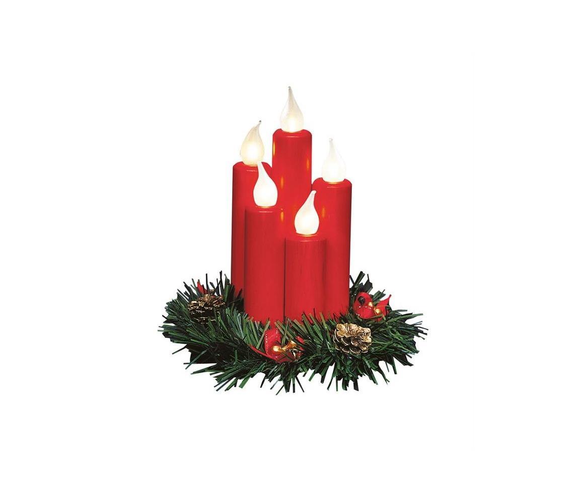 Markslöjd Markslöjd 704017 - LED Vánoční svícen HANNA 5xE10/0,06W/230V ML0280