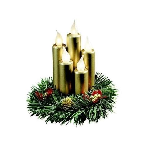 Markslöjd 8056,910 - Vánoční svícen HANNA 5xE10/3W/230V 20 cm