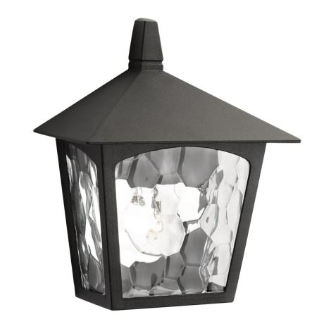 Massive 15410/30/10 - Venkovní nástěnné svítidlo BUCHAREST 1xE27/60W černá
