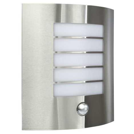 Massive 17014/47/10 - Senzorové venkovní nástěnné svítidlo OSLO 1xE27/60W IP44