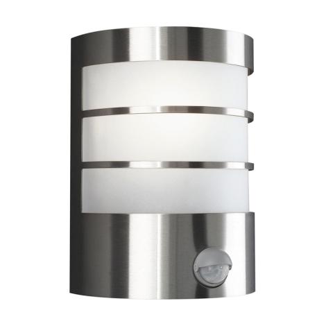 Massive 17026/47/10 - Venkovní nástěnné svítidlo s čidlem CALGARY 1xE27/60W/230V