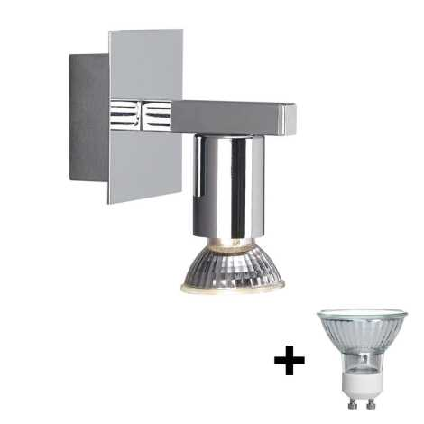 Massive 34025/11/10 - Koupelnové nástěnné svítidlo HORIZON 1xGU10/50W/230V