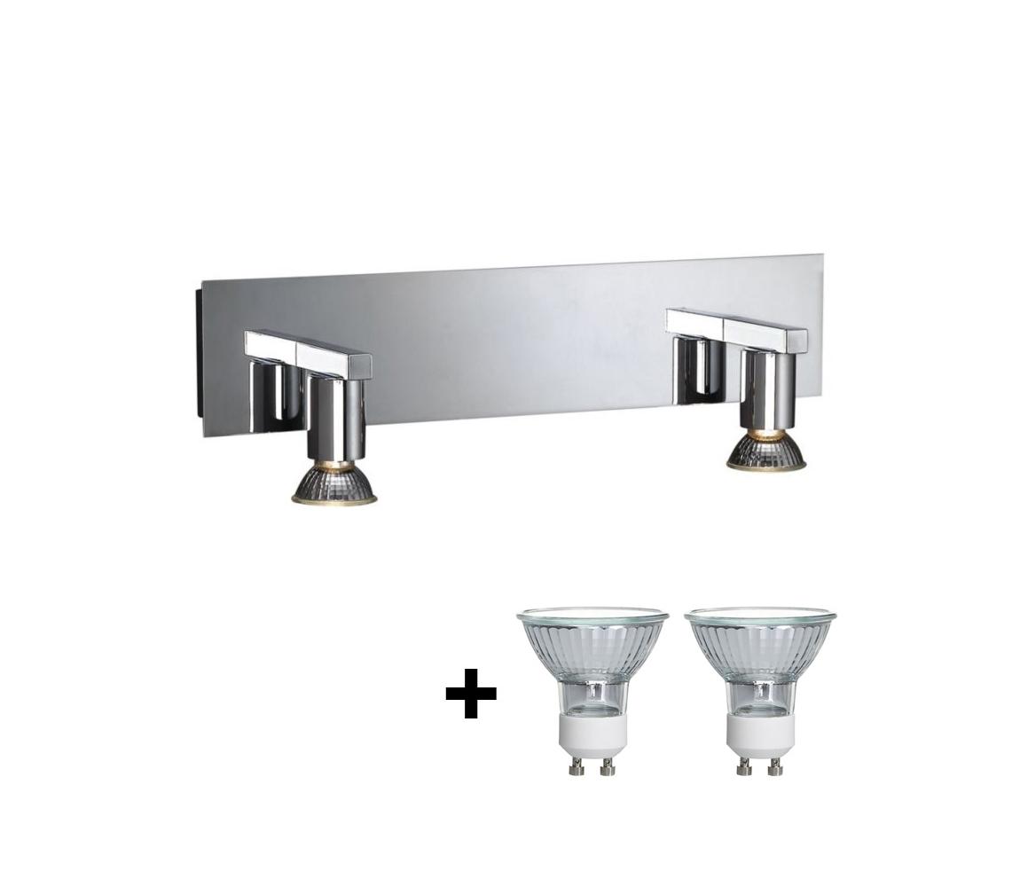 Philips Massive Massive 34026/11/10 - Koupelnové osvětlení zrcadla HORIZON 2xGU10/50W/230V M4754