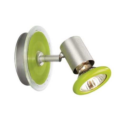 Massive 54430/33/10 - Bodové svítidlo FOXY GU10/50W/230V zelená
