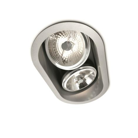 Massive 57976/48/81 - Koupelnové podhledové svítidlo BELFAST 2xG53/35W/230V
