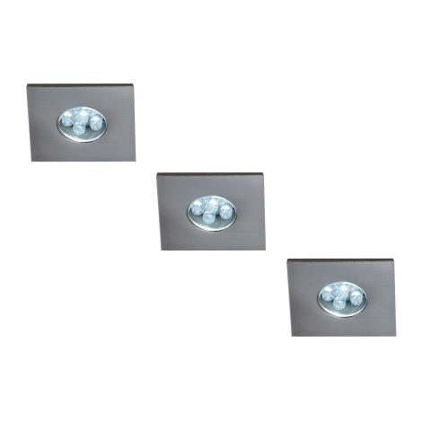 Massive 59028/17/10 - SADA 3xLED Podhledové svítidlo MONTICELLO 3xLED/0,36W/230V