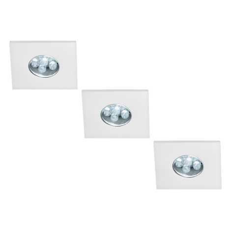 Massive 59028/31/10 - SADA 3x LED podhledové svítidlo MONTICELLO 3xLED/0,36W/230V