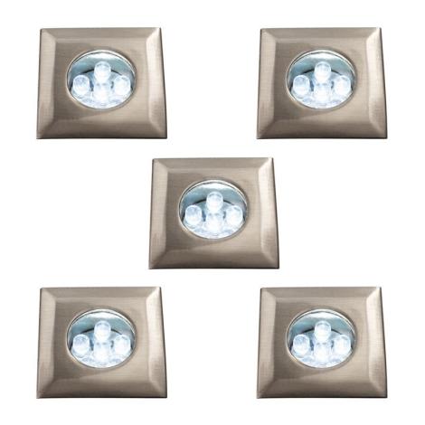 Massive 59055/17/10 - Podhledové svítidlo 5xLED/0,39W/12V
