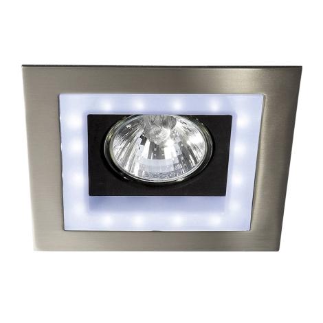 Massive  59530/17/10 - LED Zápustné bodové svítidlo BONZI 1xGU10/35W + 16xLED/3W