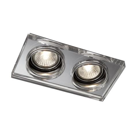 Massive 59562/11/10 - Koupelnové podhledové svítidlo SAPPHIRE 2xGU10/50W/230V